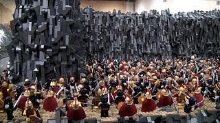 LEGO 300 Battle of Thermopylae - Brickworld Chicago 2014