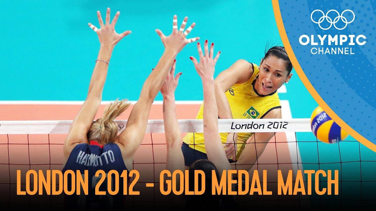 Download Brazil vs USA - Women's Volleyball Gold Final   London 2012 Olympic Games