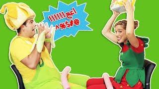 فوزي موزي وتوتي – لعبة الاسفنجة – Sponge game