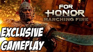 For Honor Marching Fire Shaolin Gameplay Breach Mode Tiandi PC PS4 Xbox One Starter Edition