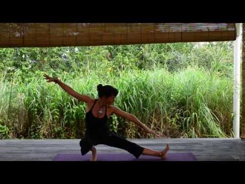 Beautiful full moon yoga salutation 15 mins
