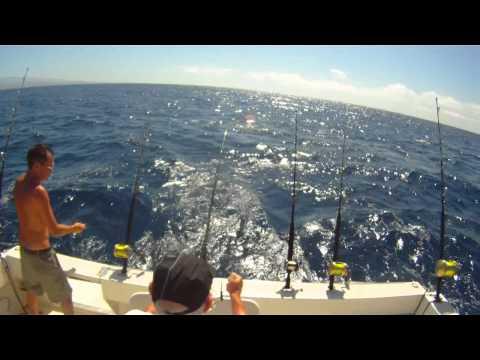 Pesca de altura en Gran Canaria: 3 Bonitos y 1 Dorado