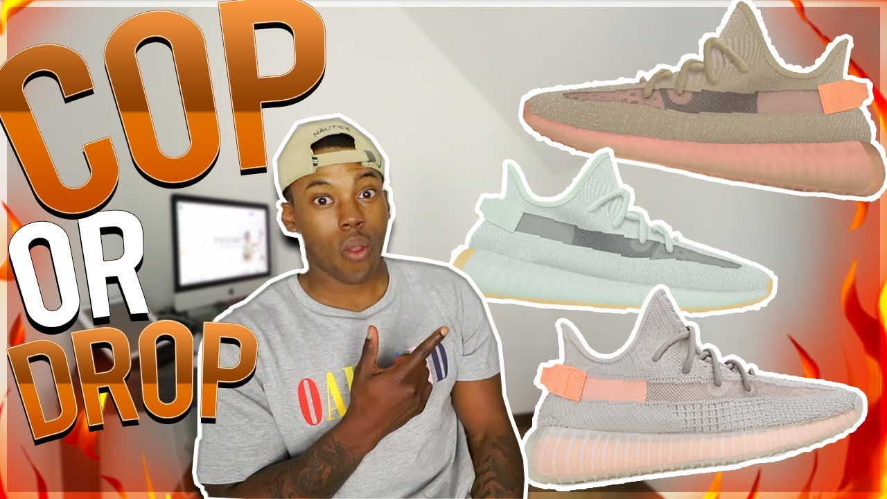 9b5e16f31 COP OR DROP!  ADIDAS YEEZY 350 V2 CLAY