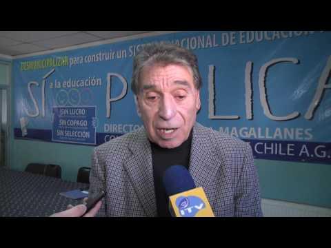 Secretario Nacional del Colegio de Profesores criticó la Ley de Carrera Docente