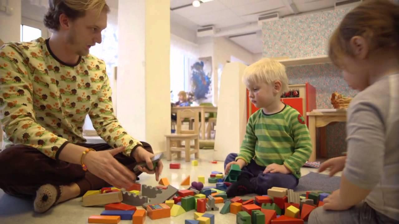 Pappa på förskolan Barnkanalen 3 - YouTube