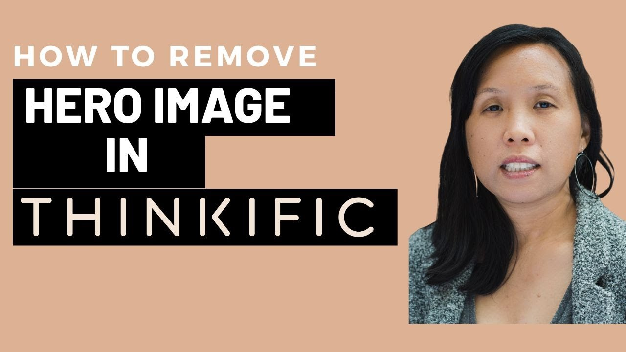How to Remove or Edit the Hero Image in Thinkific's Site Builder
