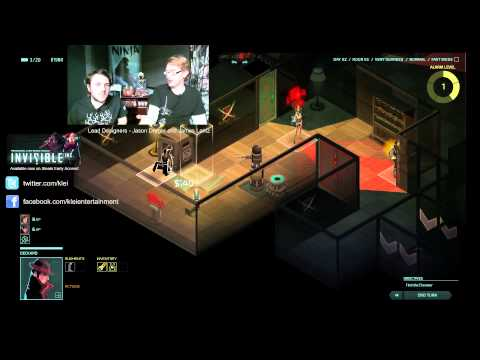 Rhymes with Play - Klei Weekly Devcast: Ep 20 - Invisible Inc