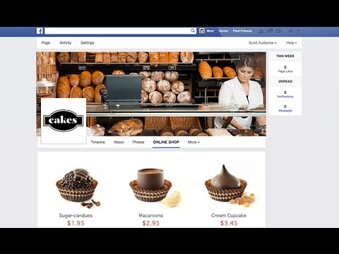 how to start an online shop on facebook