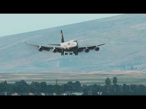 Lufthansa 747 Crashes