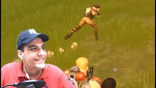 THIS GAME HAS ALOT OF FUNNY GLITCHES!! (Fortnite Battle Royale) Part 1