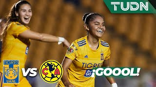 ¡Goool de Belén Cruz! | Tigres Femenil 2 - 0 América Femenil | Liga MX Femenil - AP 2019 J17 | TUDN