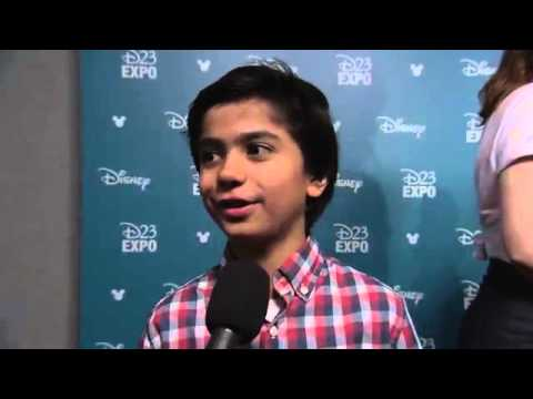 Disney's The Jungle Book Neel Sethi D23 Expo 2015 Interview