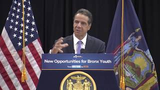 Governor Cuomo Announces $18.4 Million Investment to Improve Opportunities for Youth in the Bronx thumbnail