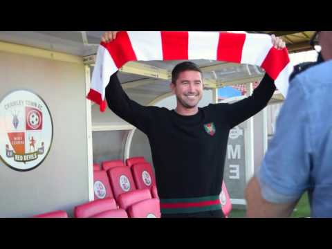 BEHIND THE SCENES   Harry Kewell's first day