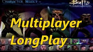 Buffy the Vampire Slayer: Chaos Bleeds - Multiplayer Longplay (4 Players) Every Character & Map
