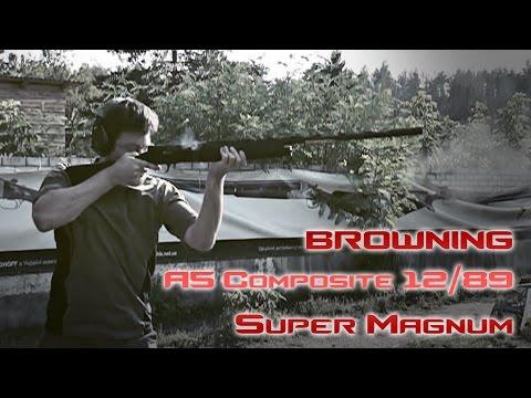 Супермагнум! Ружье Browning A5 Composite и патроны 12/89 (анонс)