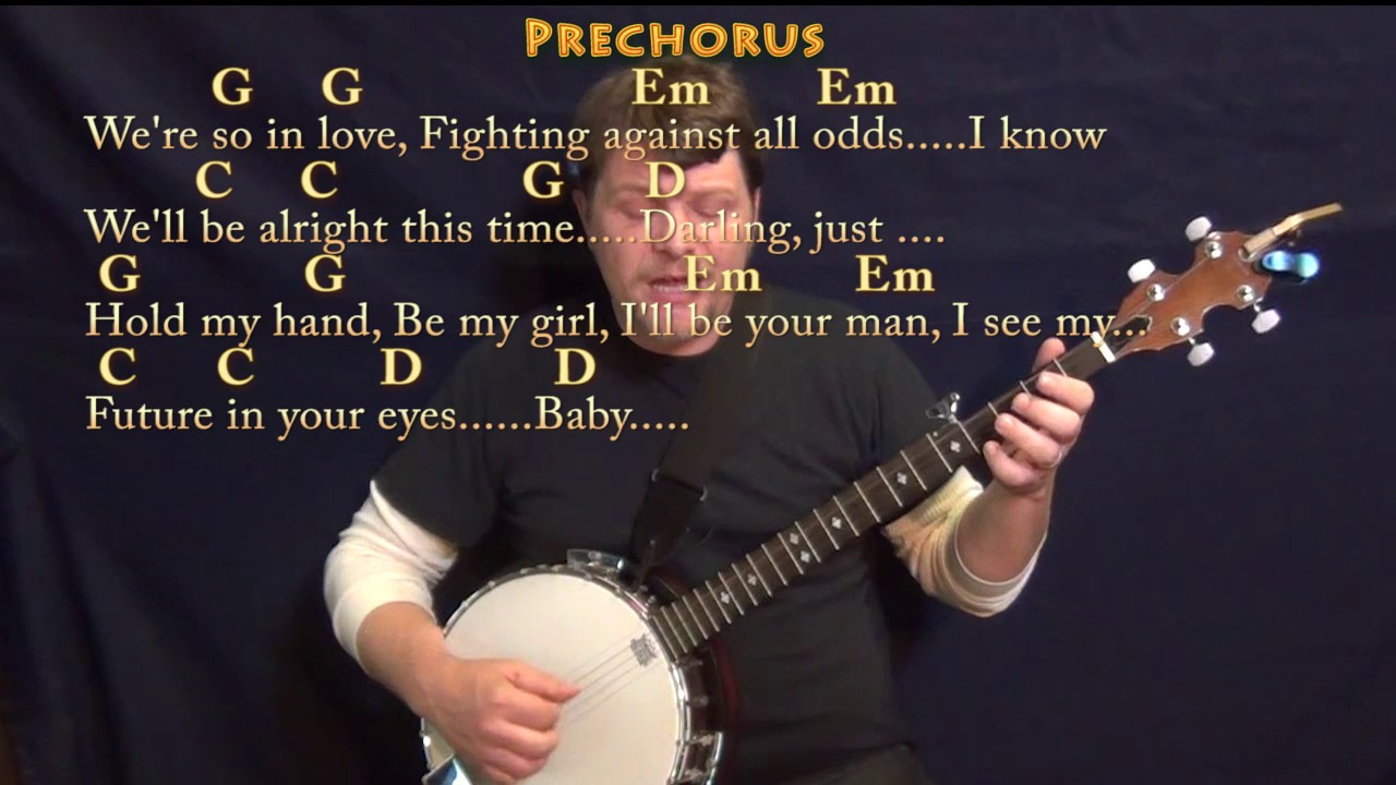 Perfect (Ed Sheeran) Banjo Cover Lesson In G With Chords