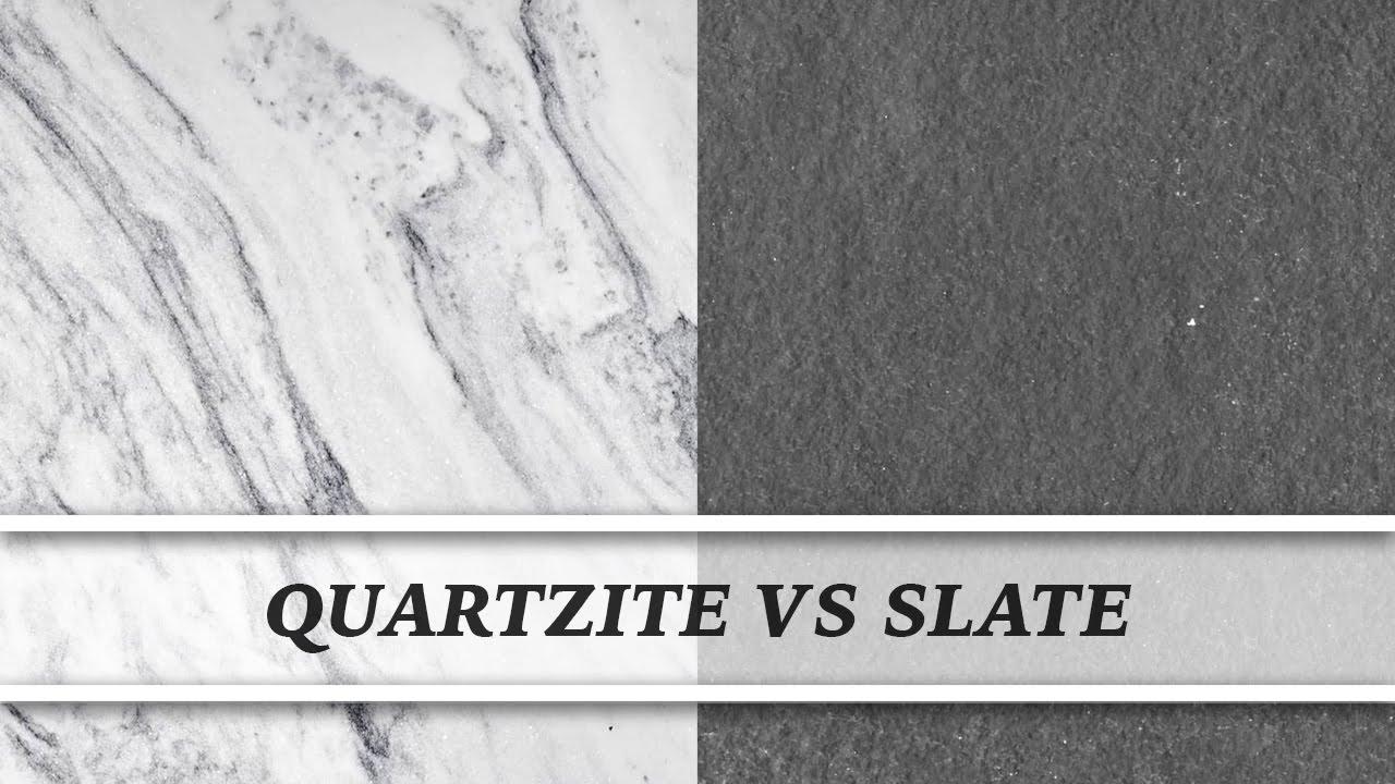 Quartzite Vs Slate | Countertop Comparison. Marble TVChannel