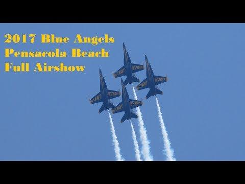 2017 Blue Angels Pensacola Beach Full Airshow
