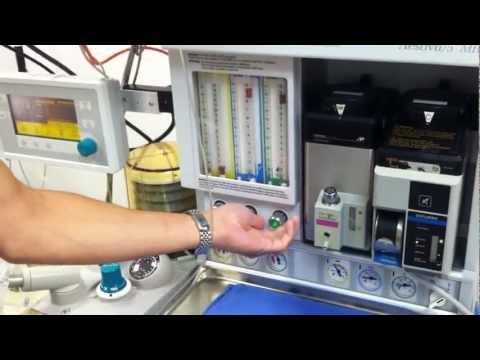 Aestiva 5 Anesthesia Machine Checkout