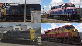 Railfanning The Iris Interlocking (YN2 GP40-2, SD70MACe, & more)
