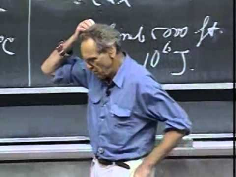 Lec 14: Orbits and Escape Velocity | 8.01 Classical Mechanics, Fall 1999 (Walter Lewin)