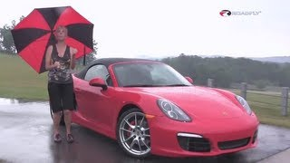 Porsche Boxster S 2013 First Test Drive & Car Review with Emme Hall by RoadflyTV