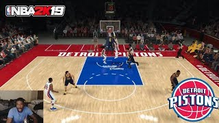 SO MANY OOPS TO BLAKE! UNLOCKING ALL TIME TEAMS! NBA 2K19 PLAY NOW ONLINE GAMEPLAY: PISTONS!