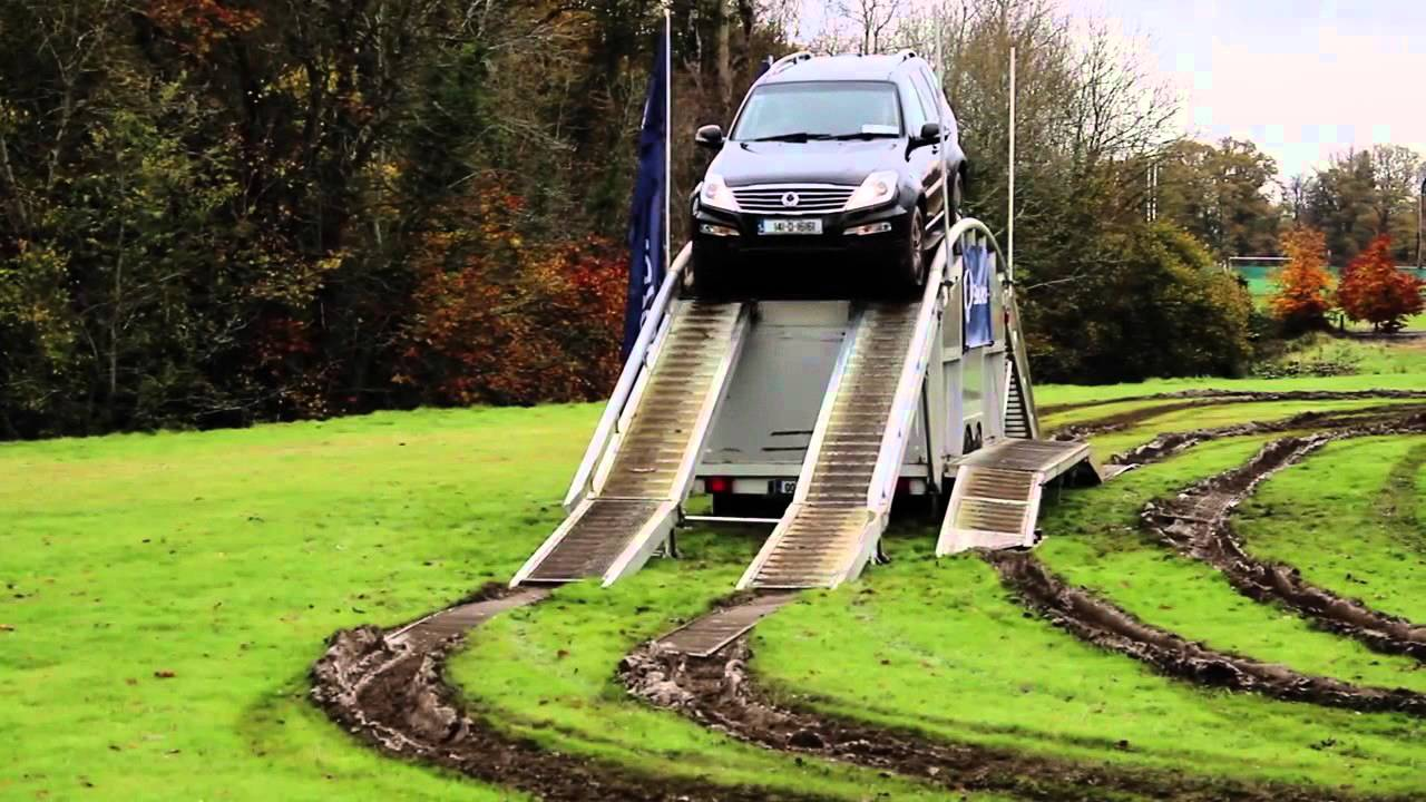 ssangyong rexton w and korando sports 4x4 off road youtube. Black Bedroom Furniture Sets. Home Design Ideas