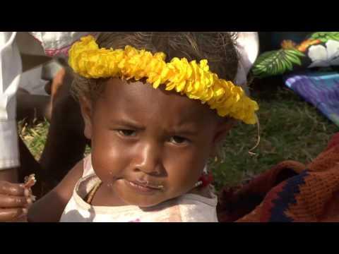 Papua New Guinea  Trobriand Island :Kirivina VIllage