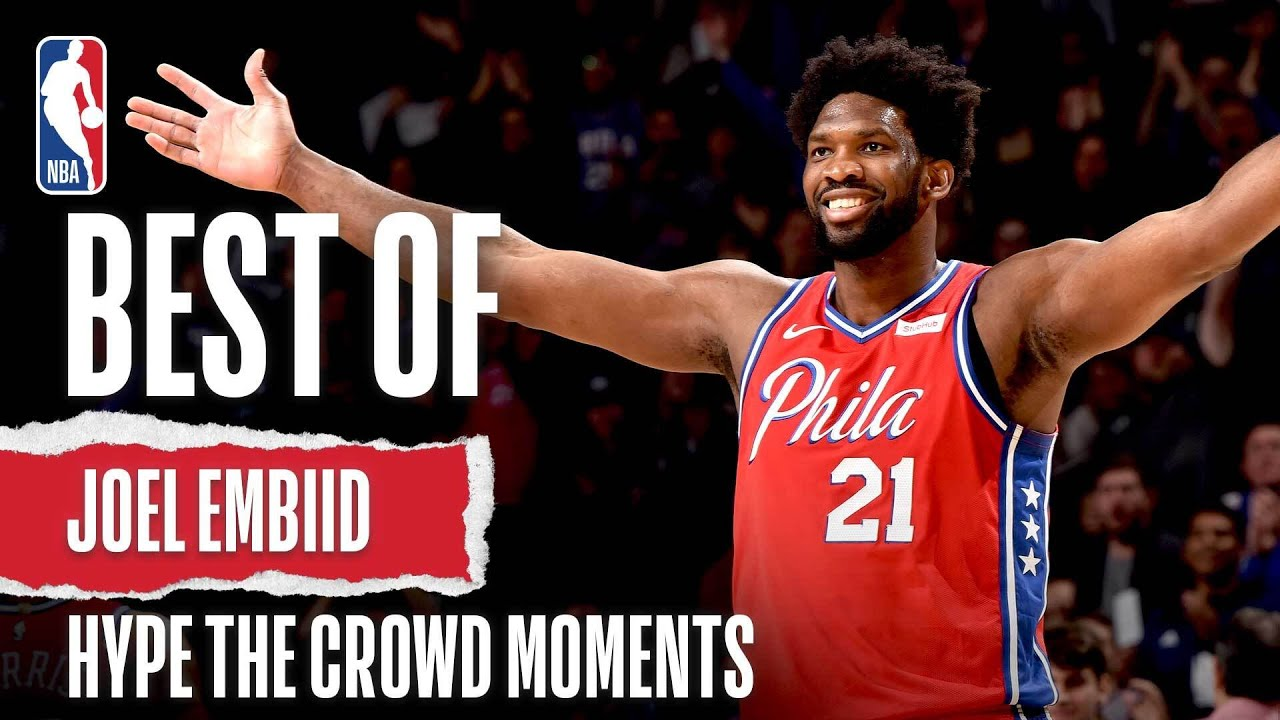 "Joel Embiid ""Hype Up The Crowd"" Plays 👀"