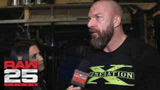 Triple H reflects on what Raw 25 means to D-Generation-X: Raw 25 Fallout, Jan. 22, 2018