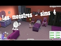 les monstres - sims4