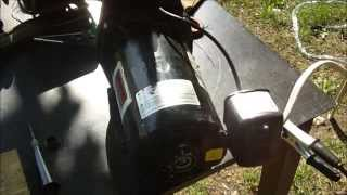 Water pump converted to belt drive, (well jet pump) How-to