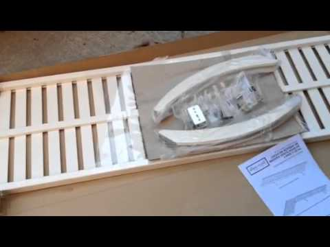 Allen Roth 48 Inch Shelf Unboxing From Lowes