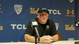 Chip Kelly after Cal win