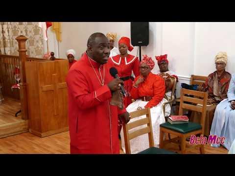 APOSTOLIC BISHOP DR. W. B. PRIMUS @  ST. JOHN'S SPIRITUAL BAPTIST CHURCH