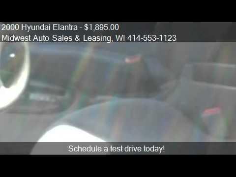2000 Hyundai Elantra GLS - for sale in Milwaukee, WI 53210