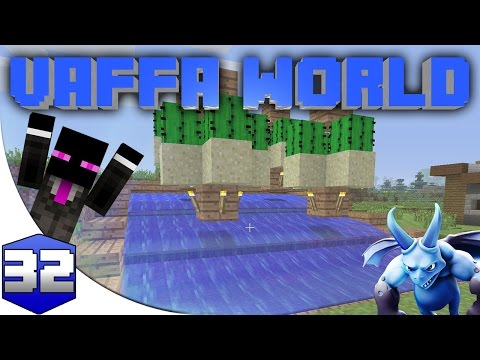 MINECRAFT : VAFFA WORLD - FARMING CACTUS #32