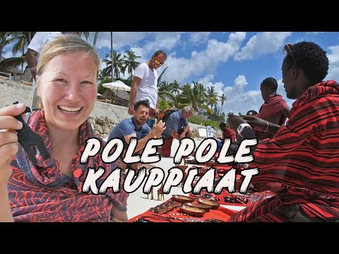 Pole Pole kauppiaat 👷 VLOG 22   Jambiani - Zanzibar - Africa