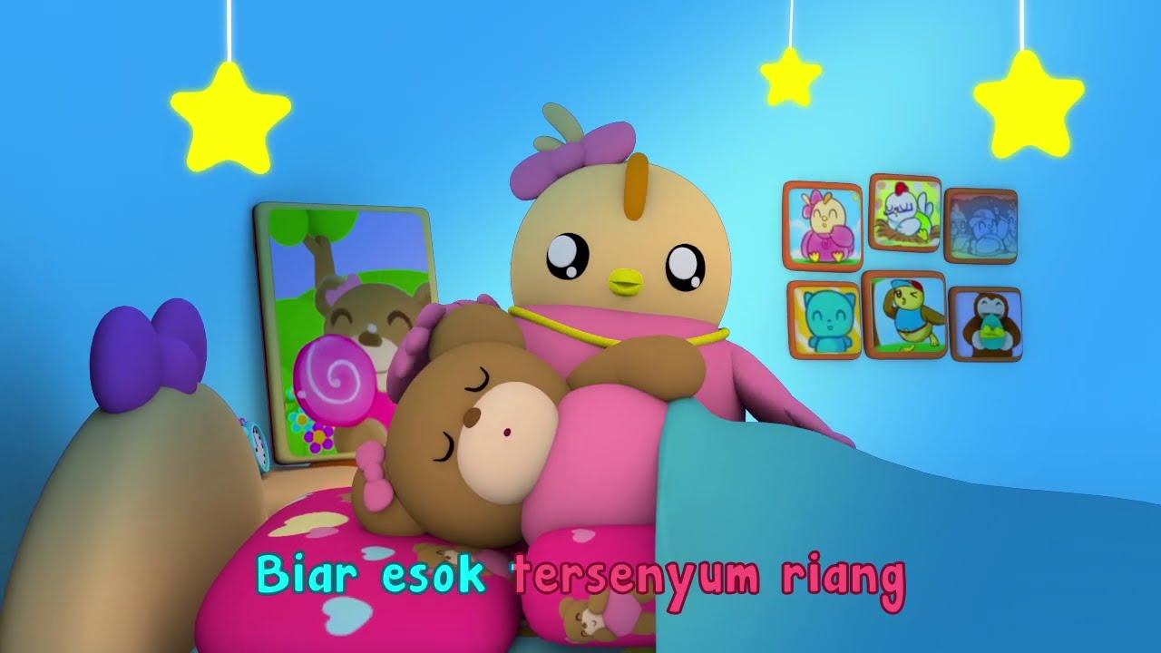 Happy Bear Tidur | Lagu Tidur Anak | Lagu Anak-Anak Indonesia | Didi & Friends Bahasa Indonesia
