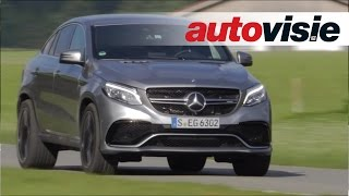 Mercedes-AMG GLE 63 S Coupé - review by Autovisie TV