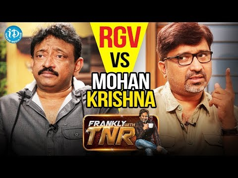 RGV Vs Mohan Krishna Indraganti || Frankly With TNR || Talking Movies With iDream