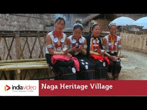 Naga Heritage Village at Kisama in Nagaland