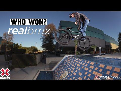 WHO WON REAL BMX 2021? | X Games 2021