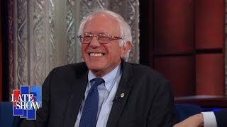 Sanders Describes The Scene on House Floor During Sit-In by : The Late Show with Stephen Colbert