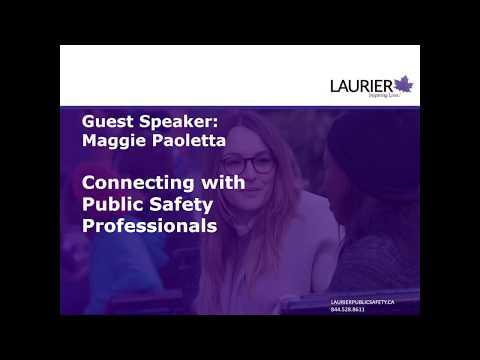 Laurier's Online Master of Public Safety Program (Webinar)