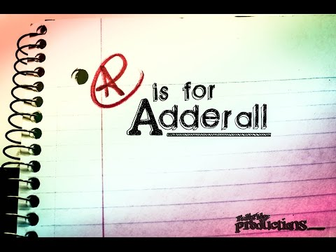 A is for Adderall  Series: Stephen Elliott