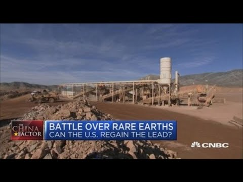 Rare Earth: How the US plans on rivaling China in the production of critical earth minerals