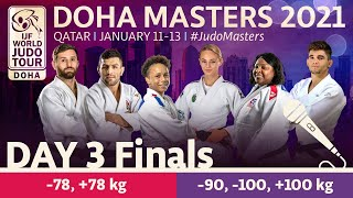 Day 3 - Finals: Doha World Judo Masters 2021